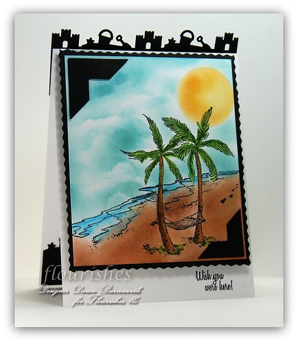 Flourishes At The Beach