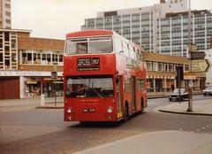 DMS2037, Croydon, March 1982 (aecregent) Tags: croydon lt daimler fleetline dms 197 dms2037 ouc37r
