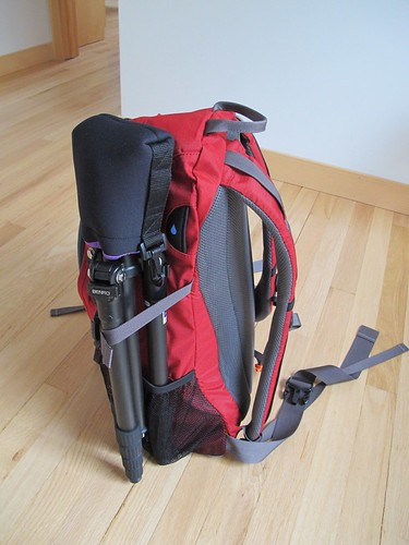 REI Trail 25 pack with foam insert and gear