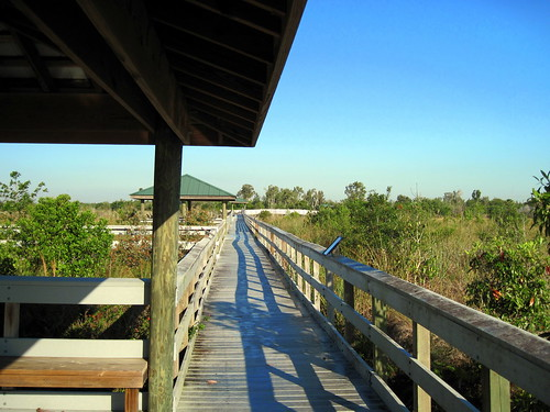 Chapel Trail Nature Center Boardwalk 20100402