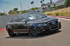 Brandon's Modified S4 (SpencerBerke) Tags: black cars out photography photoshoot time oz attack fast racing exotic huge brakes spencer audi quick loud murdered breaks automobiles exhaust s4 berke blacked rotors suspence brembos vorstiener