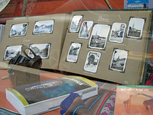 Travel guides and photo album