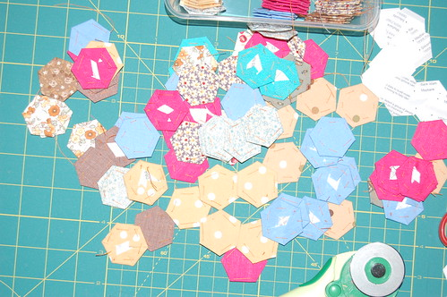 hexagons, hexagons