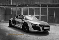 Audi R8   in Saudi Arabia (Tareq Abuhajjaj   Photography & Design) Tags: show black sport speed design photo cool nice top flash machine fast 8 tags x hide arab saudi carbon audi v10 r8 tareq arrabia nikin   d700 foilacar tareqmoon tareqdesign