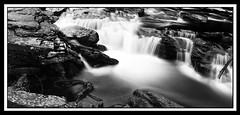 Untitled (hodges5206) Tags: longexposure blackandwhite bw panorama blur water creek waterfall nd110