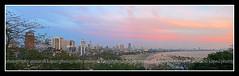 Panorama from Kamla Nehru Park (Anwar Kapasi) Tags: panorama mumbai marinedrive fz50 kamlanehrupark akapasi queensnecklece