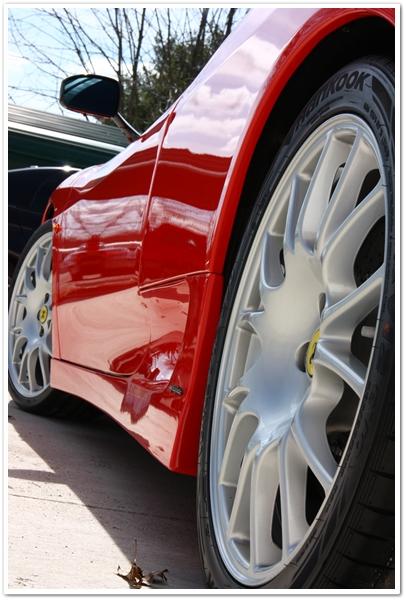 Ferrari Challenge Stradale wheels