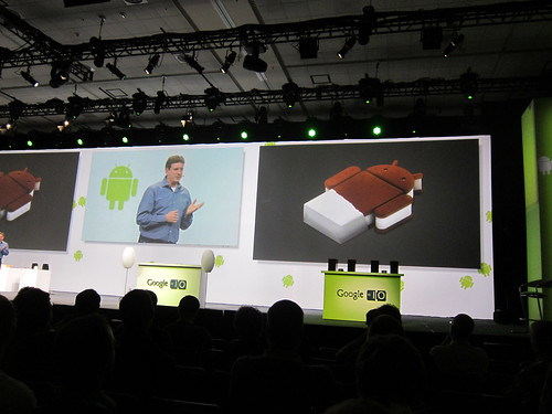 ice cream sandwich is Android 2.4