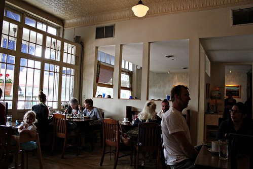Inside Grand Cafe