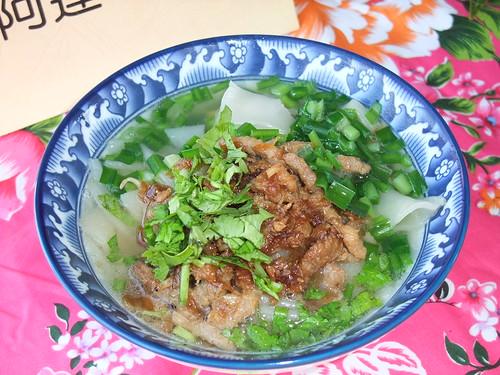 傳統湯粄條