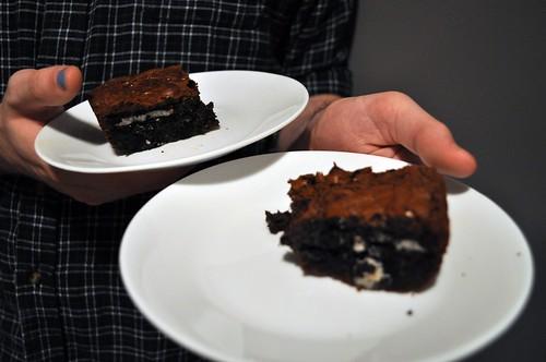 Cookies N' Cream Oreo Fudge Brownies