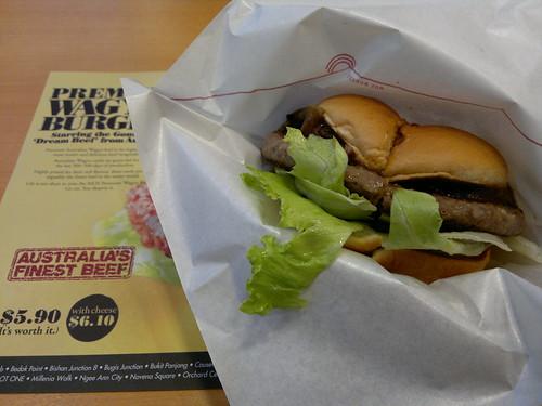 Premium Wagyu Burger