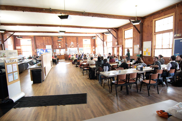 Dining Hall (view from stage)