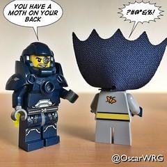 #LEGO_Galaxy_Patrol #LEGO #Batman #Moth #Mothman #MothmanProphecies #brickcentral_batman @dccomics @legobatmanmovie @lego_group @lego Brickset (@OscarWRG) Tags: legogalaxypatrol lego batman moth mothman mothmanprophecies brickcentralbatman