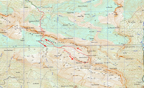 Mapa Peña Forca