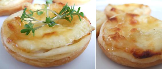 Brie Puff pastry Tart