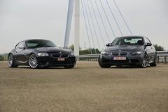Z4 M & M3 (simons.jasper) Tags: road beautiful car racecar jasper belgium belgie sony fast special bmw autos z4 m3 simons supercars combo autogespot spotswagens