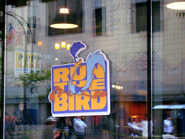 run the bird