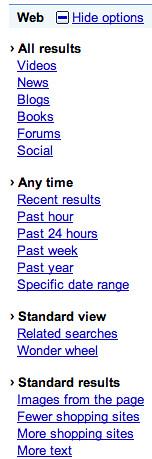 Google Timeline Removed