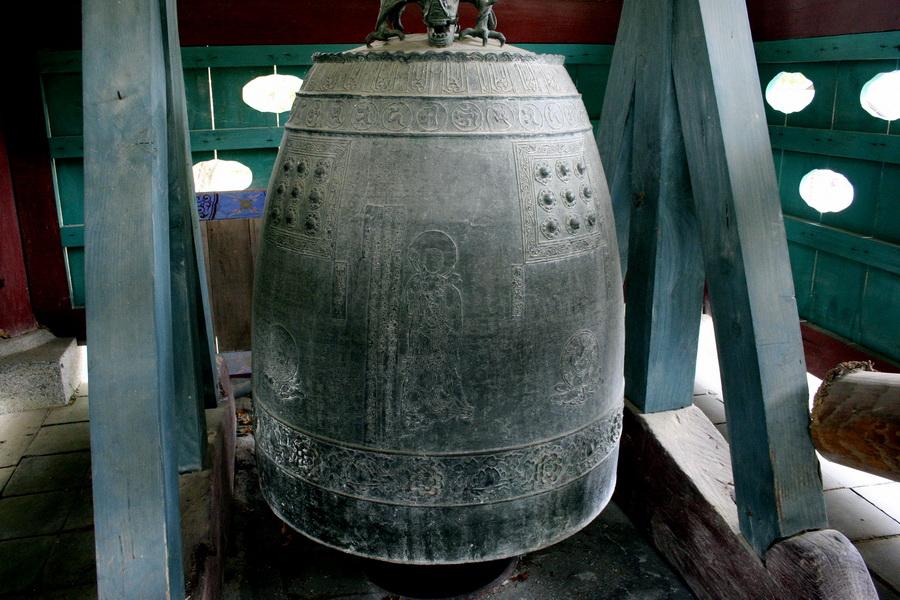 Bronze bell, Gapsa Temple