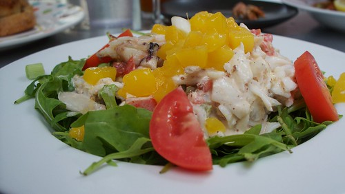 Crabmeat Mango Salad
