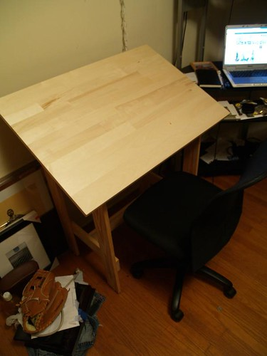 how to build a drafting table