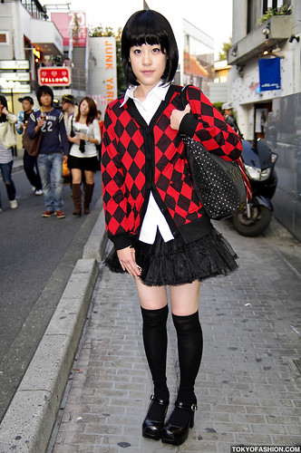 Harajuku Girl in Platforms by tokyofashion.