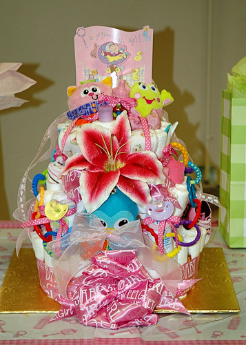 Diaper Cake Front