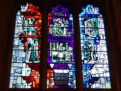 Acts of Mercy (Aidan McRae Thomson) Tags: window modern cathedral contemporary sheffield stainedglass southyorkshire harryharvey
