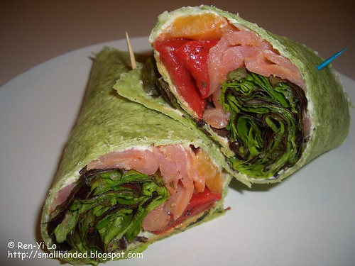 Smoked Salmon Wrap