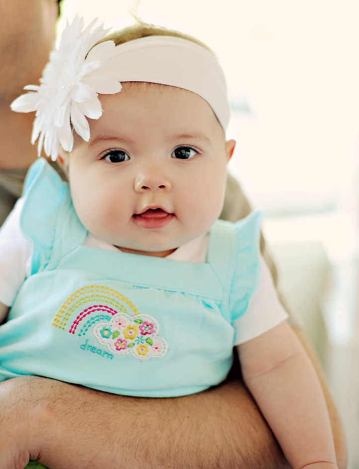 Most babies start teething at around six months, though it can start as early as three months or four months, or as late as 12 months or older (BDHF n.d., CKS/NICE ). About now you may see your baby's first teeth breaking through.