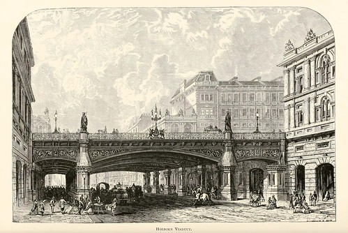 030-Viaducto Holborn- London pictures drawn with pen and pencil 1890-Richard Lovett