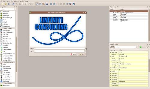 QGIS Custom Form in Designer