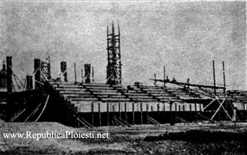 Tribuna 1 a Stadionului Ilie Oana Ploiesti - 1936