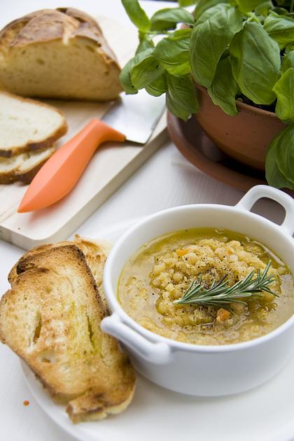 Zuppa di Lenticchie Rosse (part)