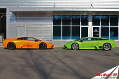 Combo LP640s (Alex Weber) Tags: two orange verde green alex car photography photo dof shot wheels super spot best lp 28 ithaca expensive rims ever lamborghini find supercar fastest weber 65 liter combo v12 lambo 640 alexweber lp640 canon7d