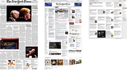 NY Times front pages