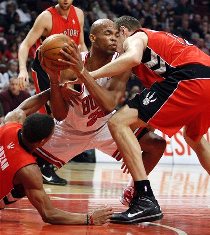 Were the Raptors playing 10-on-5 last night? Because it sure felt like it.