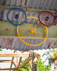 Castaway Cay - Hidden Mickey Bike Rims (Pete