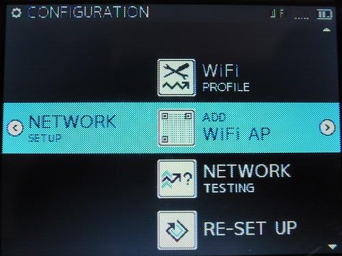 net work menu