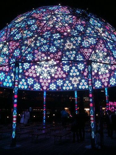 LaQua (Tokyo Dome City) Christmas illminations 2009 winter