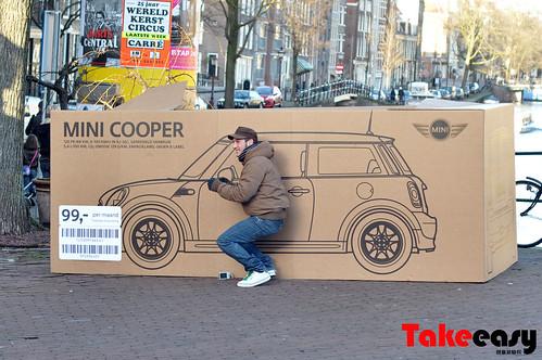 mini cooper 圣诞广告3