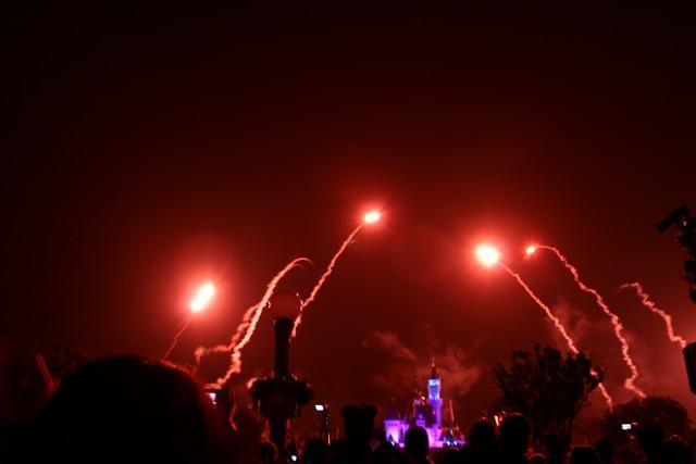 HK Disneyland Fireworks