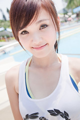 (swanky) Tags: portrait people cute girl beauty pretty 2009    gameking   sandy1124e