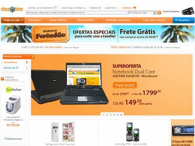 ofertas do shoptime: promoção