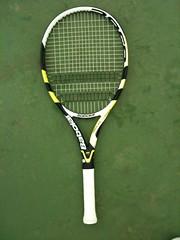 La nouvelle raquette de Nadal et tsonga