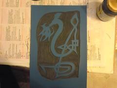 Dragon print WIP