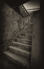 Stairway (mt aus b) Tags: stairs stairway treppe staircase madeira sefia treppenstufen mtausb