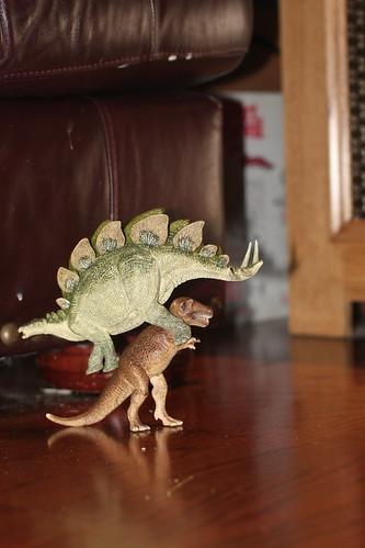 Dinosaur Piggyback ride