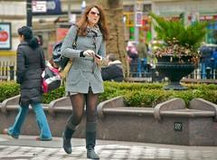 newyork sunglasses sweater boots manhattan broadway tights upperwestside hood peeps earphones shortskirt verdi darktights